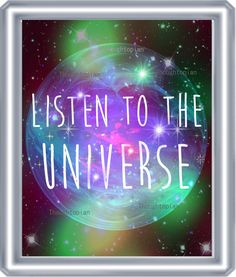 Listen to the Universe Art Print 8 x 10 Spirituality Metaphysical Psychedelic Visionary Art Music Festival Hippie Mystical Cosmic Style 2 Guard Your Heart Quotes, Universe Art, Visionary Art, Business Card Holders, Art Music, Positive Affirmations, Law Of Attraction, Cosmic, Psychedelic