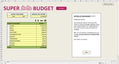 10 Free Budget Spreadsheets for Excel – Savvy Spreadsheets Monthly Budget Spreadsheet, Family Budget Planner, Budget Planner Template, Budget Worksheets Excel, Budgeting Worksheets, Templates, Free, Financial Planning, Debt