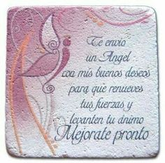 Favorite Quotes, Best Quotes, Get Well Wishes, Cute Poster, Wife Quotes, Get Well Soon, Positive Messages, Condolences, Spanish Quotes