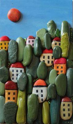 Little Village: Pebble Art - Michela Bufalini