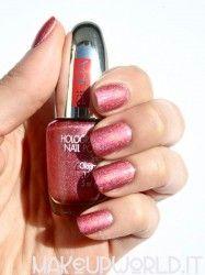 Pupa 038 Holographic Strawberry #makeup #trucco #smalto #nail #nails #nailart #nailpolish #review #beauty #beautyblogger #nailmania