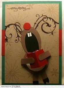 kartka świąteczna własnoręczna - Szukaj w Google