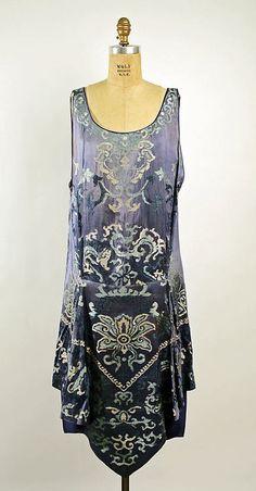 Dress  Callot Soeurs, 1926  The Metropolitan Museum of Art