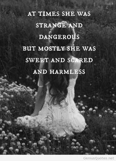 Strange and dangerous quote image on imgfave