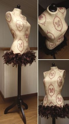 decorative dress form/mannequin