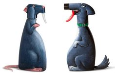 Simply Creative: Gilbert Legrand Creates Whimsical Characters Out Of Everyday Objects Plastik Recycling, Gilbert Legrand, Plastic Bottle Crafts, Plastic Bottles, Cardboard Art, Creative Pictures, Everyday Objects, Recycled Crafts, Art Object