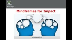 Kristin Anderson: Visible Learning Mindframes, A Deeper Dive Webinar Kristin Anderson, Visible Learning, Education, Youtube, Educational Illustrations, Learning, Youtube Movies, Studying