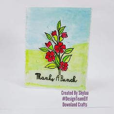 """Hi crafty friends…. Today I am showcasing new bunch of thank you cards to inspire you using one of the latest release stamps """"Thanks a bunch"""" from Downland Craft August release!! Use DTESHYLAA10 at checkout to get discount. This stampset is available for purchase at Downland Crafts online store! In India we celebrate Teacher's Day […] The post Thank you Cards for Teachers appeared first on Downland Crafts. Teacher Cards, Vellum Paper, Thanks A Bunch, Craft Online, Teachers' Day, Paper Artist, Bunch Of Flowers, Card Maker, Blog Design"""