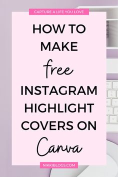 Learn to create gorgeous Instagram highlight covers for FREE with Canva! Make your next Instagram story beautiful and inviting by categorizing it with pretty highlight covers. Click here to improve your Instagram aesthetic in 10 minutes or less! #instagram #highlightcovers #instagramstories #instagramhighlights #instagramhighlightcovers More Instagram Followers, Instagram Apps, Find Instagram, Instagram Marketing Tips, Instagram Story Ideas, Picture Ideas, Photo Ideas, Little App, Design Social