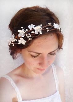 rustic wedding hair accessories