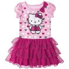 Hello Kitty™ Infant Toddler Girls' Tunic Dress - Pink