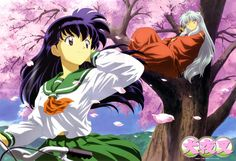 Number one reason I like the show: Kagome is like Sailor Mars translated into her own show. She even does archery. It is amazing.