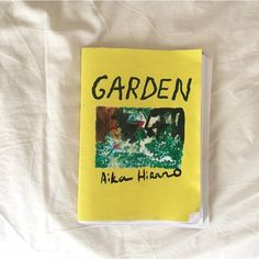 """Zine """"GARDEN"""" is ready. Released by @ccommunee commune Press!! Please check it out at Melbourne Art Book Fair starting next weekend!  From @ccommunee  New Release For #MelbourneArtBookFair 2016  zine """"GARDEN"""" by Aika Hirano ーーー At Melbourne Art Book Fair starting next weekend we will release Japanese artist Aika Hirano's newest zine """"GARDEN from commune Press! A5 / 36p / Ltd.200  ーーー 4/30(土)&5/1(日) [Preview: 4/29(金)]に開催されるメルボルン アートブックフェアーでcommune Pressからリリースする新作はアーティスト Aika Hirano…"""