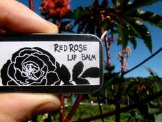 red rose lip balm red tint natural organic lip by medicinegardens,  #hudsonvalley, #hvnyteam