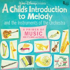 A Child's Introduction to Melody and the Instruments of the Orchestra (Vintage Audio Recording) (W19-W24)