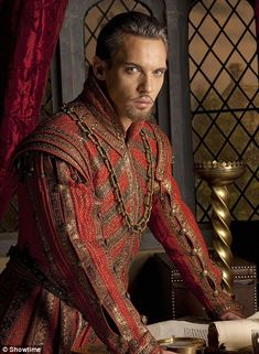 Critically-acclaimed: Rhys Meyers as King Henry VIII in The Tudors