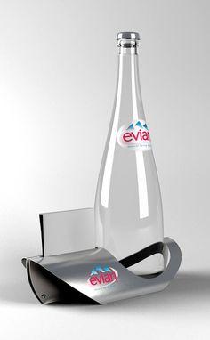 Support bouteille d'eau