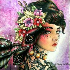 #Hanna karlzon From Karine Calabra  @drawing_n_coloring_