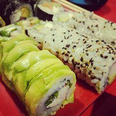 #sushi en familia, celebrando el cumpleaños de mi hermano @ignaciohlf