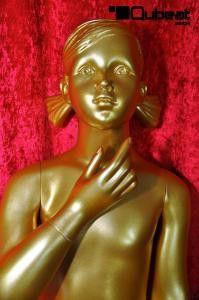 #gold #Gesicht #Schaufensterpuppe #Mannequin #Kind #Kinder #Mädchen #weiblich