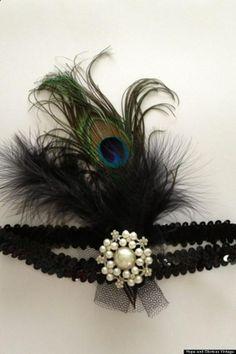DIY Fascinator: DIY Headband Gatsby Inspired : How To Make A 1920s Headband