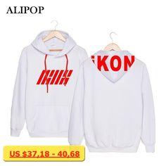 KPOP Korean Fashion IKON B.I BOBBY Welcome Back Budokan Album Concerts Cotton Hoodies Clothes Pullovers Sweatshirt PT016