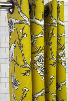 these shower curtains make me want to shower.