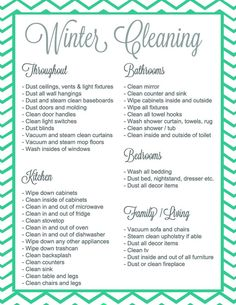 Winter cleaning it s a thing {giveaway + free printable checklist room cleaning checklist for tweens teens Deep Cleaning Tips, House Cleaning Tips, Cleaning Solutions, Cleaning Hacks, Cleaning Schedules, Cleaning Lists, Deep Cleaning Checklist, Speed Cleaning, Weekly Cleaning