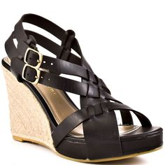 84.55$  Buy here - http://alixs1.worldwells.pw/go.php?t=32469257998 - Black Most Comfortable Sandals For Walking Ladies Dress Peep Toe Pumps Sexy Fashion Cheap Girls Wedges The Latest High Heels