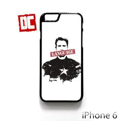 Captain America Language For iPhone 6/6S/6S plus Phone Cases