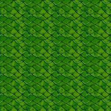 Mermaid Days Scales Fabric - Green