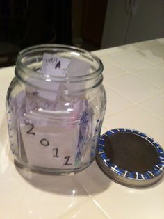 Graduation Advice Jar
