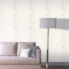 Arthouse Orabella Tree Glitter Wallpaper - Pearl - http://godecorating.co.uk/arthouse-orabella-tree-glitter-wallpaper-pearl/
