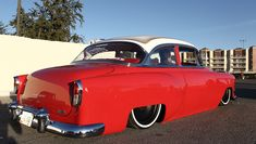 "1954 Chevrolet With 20"" Steelies (Detroit Steel Wheels) (Laodies Kustomz) (Steele Rubber Products) (SEMA 2012)"
