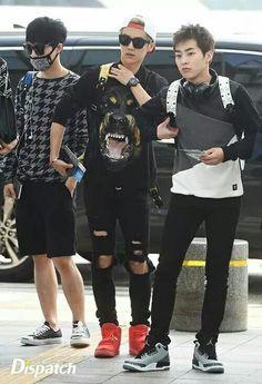 Lay, Luhan, Xiumin