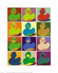 WARHOL rubber duck.