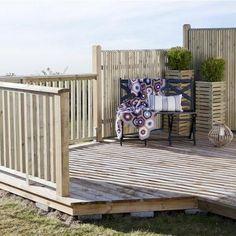 terrasse inspirasjon - Google-søk Outdoor Living, Outdoor Decor, Deck, Pergola, Gardening, Home Decor, Terrace, Summer, Outdoor Life