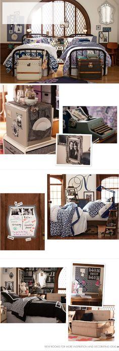 Dorm Room Ideas & Decorating Ideas for Your Dorm Room | PBteen