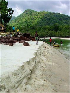 Number 2 Beach White Sand - Freetown, Western- Sierra Leone