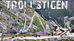 Trollstigen road in Norway - 4K