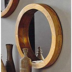 Our Roost Porthole Mirrors held by thick wooden frames evoke the glamour of a luxury liner. Shiny brass trim on the inner rim accentuates the clean and simple design. Made of mango wood with a waxed finish it adds elegance to any decor. Round Mirror With Rope, Rope Mirror, Porthole Mirror, Round Mirrors, Ocean Home Decor, Tv Wall Decor, Wall Art, Home Decor Online, My Living Room
