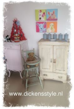 All for THE kids AT Dickens Style brocante