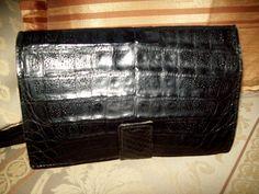 "Vintage 1982's French ""Studio de Paris "" Real Leather handbag"