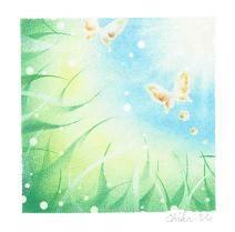 アートギャラリー Soft Pastel Art, Pastel Drawing, Crystal Flower, Diy And Crafts, Art Ideas, Notebook, Tapestry, Cartoon, Drawings