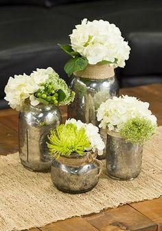 15 Silver Wedding Ideas - Rustic Wedding Chic