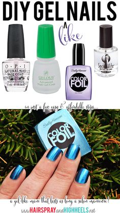 DIY Gel Like Nails!