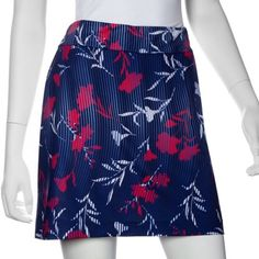 "Need new golf apparel? EP New York takes pride in offering women's golf clothing for all shapes and sizes. Buy this Graphic Jam (Inky Multi) CLEARANCE EP New York Ladies & Plus Size 17.5"" Pull On Golf Skorts today from Lori's Golf Shoppe!"