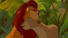The Most Romantic Disney Songs Simba Y Nala, Lion King Simba, Disney Lion King, Disney Kiss, Disney Songs, Disney Love, Disney Couples, Walt Disney, The Lion King 1994