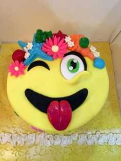 Emoji  - Cake by Tiers of joy