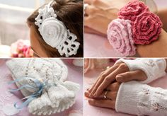 Knitted (and crocheted) wedding gifts - free patterns